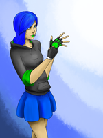 Blu: Ready For Action by AssemblerOfSouls