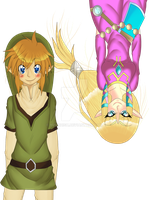 The legend of zelda skyward sword love by yumi12ish