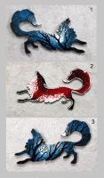 Foxes accessories III by hontor