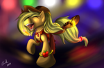 Apple Horse Rave by JinYaranda