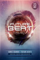 Future Beat Flyer by styleWish