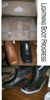 Lightning Boots progress by RoxyRoo