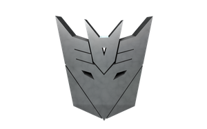 DECEPTICON Logo Transparent V2 by PlaviDemon