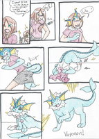 Vaporeon tf request by RaiinbowRaven