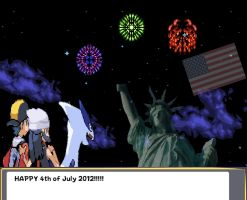 Happy 4th of July 2012 with Gold by DarkraDx