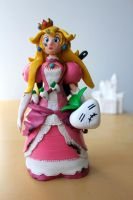 Princess Peach Fully Loaded by lonelysouthpaw