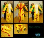 Tien Long Bodysuit + Paws by Wolfbird