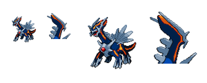 More Dark Dialga sprites by Noland005