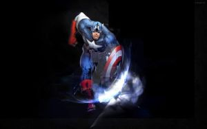 Captain American shield by didag12