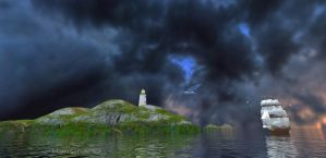 Sailing Round The Islands by Hansmar