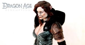 Dragon Age Redemption - Tallis custom figure by SomethingGerman