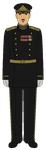 Soviet Vice Admiral - Victory Day 1945 by JoeyLock