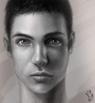Male portrait omg by NImportant