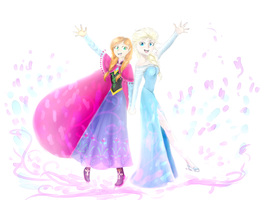 [frozen] Magic on ice ~ by GR4CE-and-T0FFIE