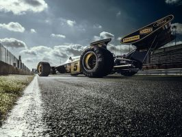 Lotus 72D Race track by Laffonte