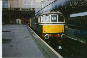 Two Class 33s, Waterloo by klambert94