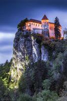 Bled Castle by BerarAdrian