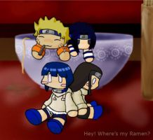Naruto- Hey where's my ramen? by zaheela