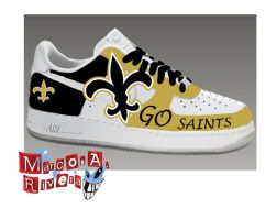 New Orleans Saints Sneaker by MarcosARivera