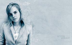 Emma Watson Duotone by max-n0d3