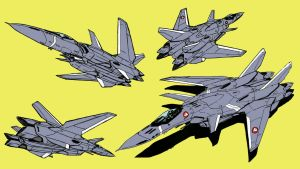 VF-18 Metal Siren (fighter mode) by Grebo-Guru