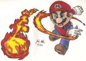 It's a me a Mario by Shigdioxin