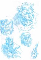 random stuff: wolfie sketches by Andy-Pandy