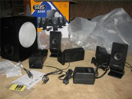 Creative SBS A500 unboxing 2 by SinanDira