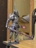 Demon Souls Penetrator Demon statue by futantshadow