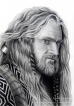 Thorin. King under the mountain by ochopanteras