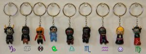 Homestuck Keychains! by Purple-mist-rising