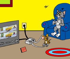 Tom and Jerry video game by brunao2