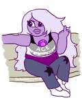 Asexual Amethyst by TheAmbears