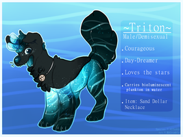 Triton: WaterDog Refsheet (TRADED) by MrGremble