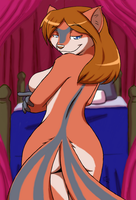 Lisa in the bedroom by Gabe by bobingabout