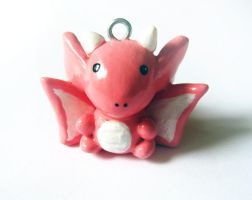 Pink Dragon Charm by mAd-ArIsToCrAt