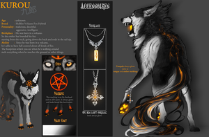Kurou - Ref-Sheet by WhiteSpiritWolf
