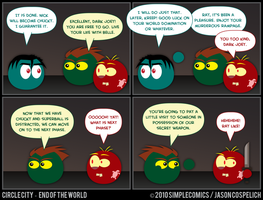 CC416 - End of the World 16 by simpleCOMICS
