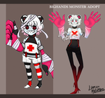 BigHands Monster Adopt - CLOSED! by Lord-Kosmos