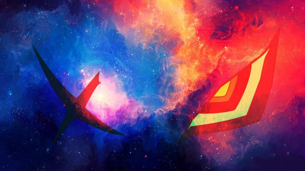 Senketsu Space Wallpaper by UnusualZero