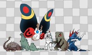 Monster Line Up (WIP) by Soap9000