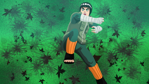 Rock Lee Konoha Senpuu by HayabusaSnake