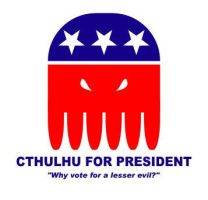 Cthulhu for President by xalres
