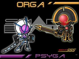 Orga and Psyga by the-tracer