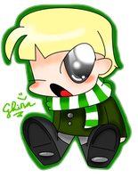 cute little Draco by ghinaagini