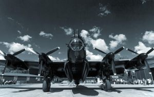 Lancaster 'Just Jane' by davepphotographer