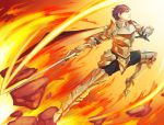 Warrior of Fire by Blue-Memo