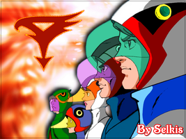 Gatchaman by SelkisFritz