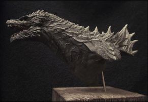 Godzilla 2014 Cool Concept by Psychocide