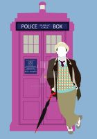 Seven and the TARDIS (Happiness Patrol) by HaddonArt